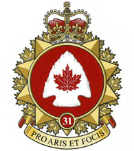 31 Canadian Brigade Group Badge
