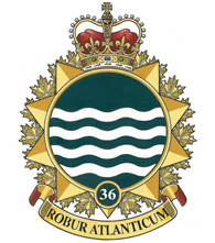 36 Canadian Brigade Group crest