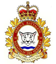 39 Service Battalion badge