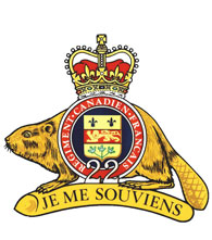 Badge of the Royal 22e Régiment