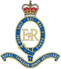 1st Regiment, Royal Canadian Horse Artillery Badge