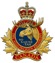 The Algonquin Regiment crest