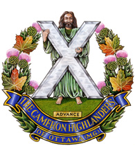 Insigne du The Cameron Highlanders of Ottawa