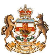 The King's Own Calgary Regiment Badge