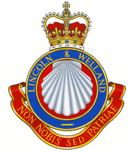 The Lincoln and Welland Regiment crest