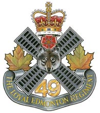 Insigne du The Loyal Edmonton Regiment