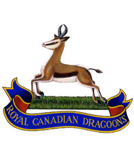 The Royal Canadian Dragoons Crest