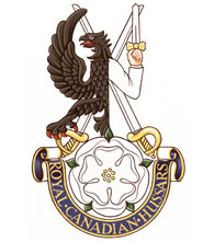 Royal Canadian Hussars Badge