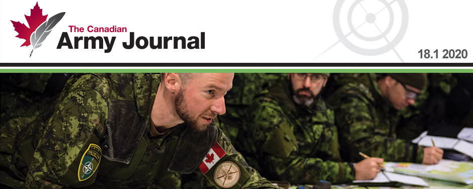 Slide - Canadian Army Journal