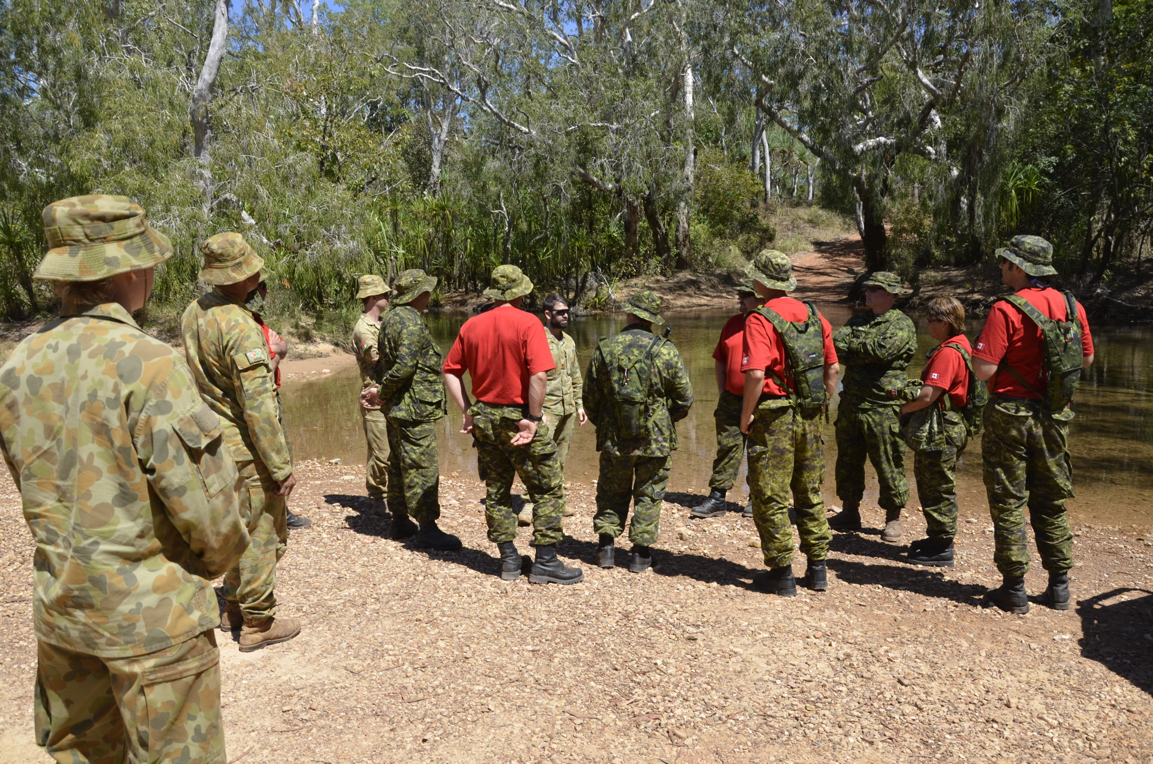 Northern Territory, Australia —Members of the 4th Canadian Ranger Patrol Group recently participated in an exchange with some of their Australian counterparts in the North West Mobile Force (NORFORCE), an Army Reserve infantry regiment of the Australian Army, and visited the remote Northern Territory.