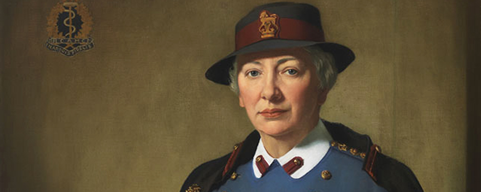 Slide - portrait of first woman Colonel