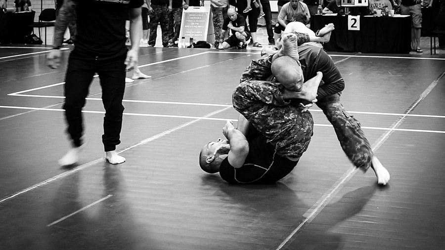The Military Combatives Grappling Championship, which took place in Petawawa in June, is the creation of Lieutenant-Colonel Steve Burgess. An expert in martial arts and close-quarters fighting, he started the event in 2013 as a way to increase the profile of hand-to-hand fighting techniques in the Canadian Armed Forces.