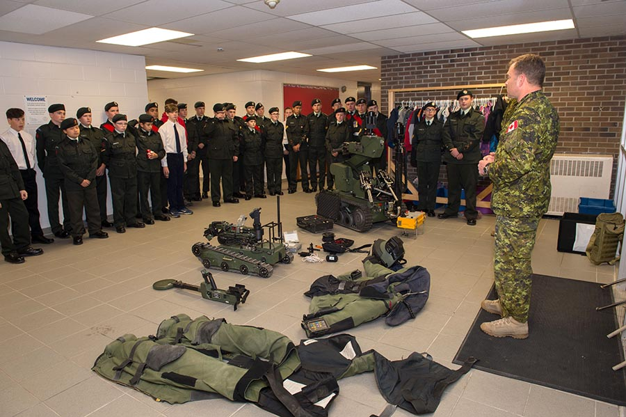 Explosive Ordnance Disposal Technician talks about the equipment