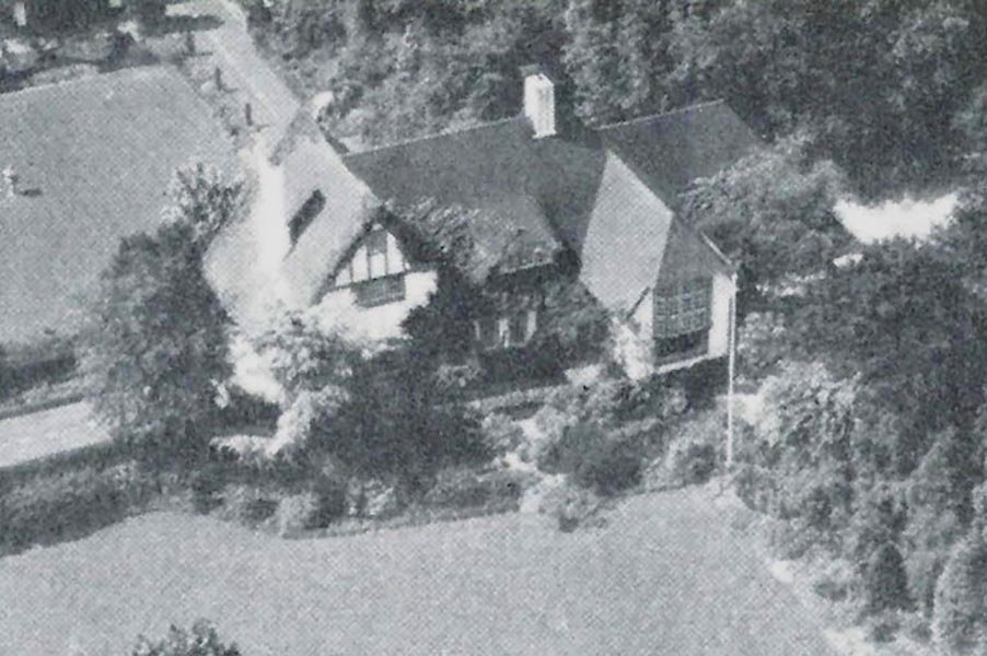 Mona and Willem's house in Laren, called Ingleside. Provided by Library Archives Canada
