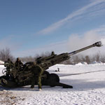 The M777 Howitzer.