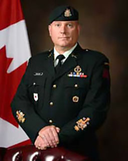 Chief Warrant Officer S.E. Croucher, MMM, CD