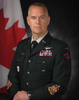 Chief Warrant Officer S. Hartnell, MMM, MSM, CD