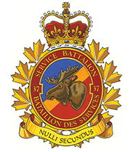 37 Service Battalion Badge